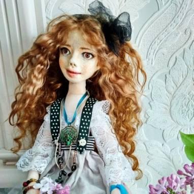 авторская кукла Николь ручной работы