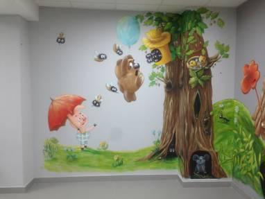 Роспись стен ручной работы
