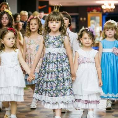 """Коллекция детских платьев """"Alice"""" ручной работы"""