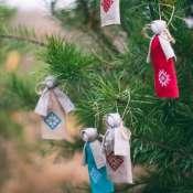рождественские ангелки на елку