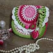 сумочка вязаная для девочки