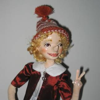 авторская кукла Буратино