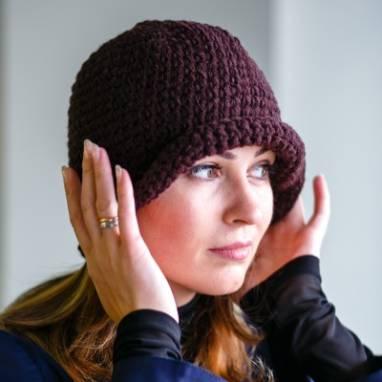 Шляпка Juli ручной работы
