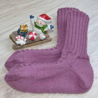 Носки вязаные - ручная работа ручной работы