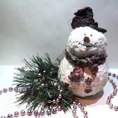 """Игрушка на елку """"Снеговик"""" ручной работы"""