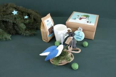 Подарочный набор с чаем ручной работы