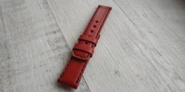 Ремешок для часов из натуральной кожи ручной работы