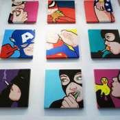 Картины Super Heroes