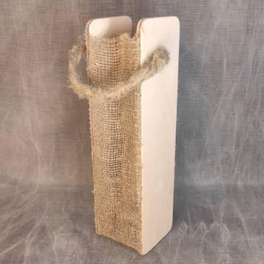 Упаковка для бутылки коробка подарочный 23 февраля ручной работы