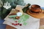 """подарок партнерам в белорусском стиле """"Зеленый"""""""