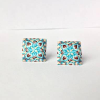 Серьги для девочек из полимерной глины ручной работы