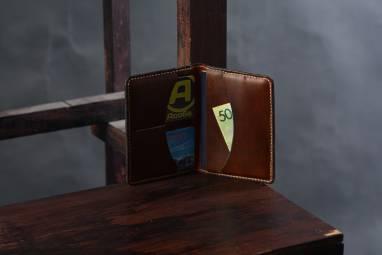 Обложка для паспорта LEMA ручной работы
