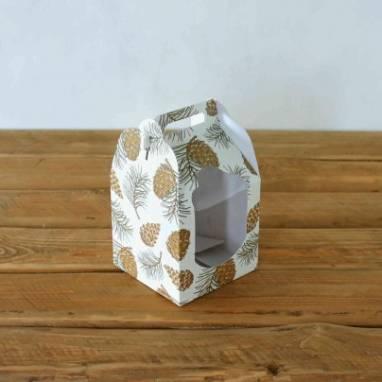 Коробка для кулича ручной работы