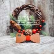 Деревянная галстук - бабочка (Wooden Bow Tie)
