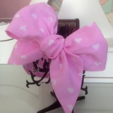 Бант-повязка, украшение для волос ручной работы