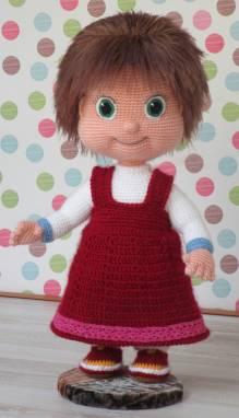 Кукла Маша ручной работы