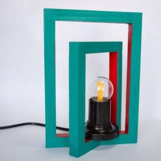 Настольный светильник Смещенные квадраты