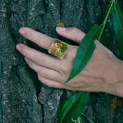 Керамическое кольцо на палец