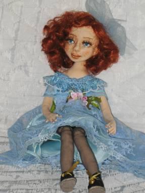 Авторская кукла София ручной работы
