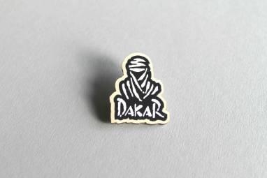Значок-брошка Дакар ручной работы