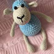 Мягкая игрушка зефирная овечка