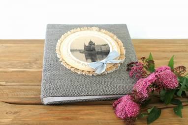 Альбом для фотографий свадебный ручной работы