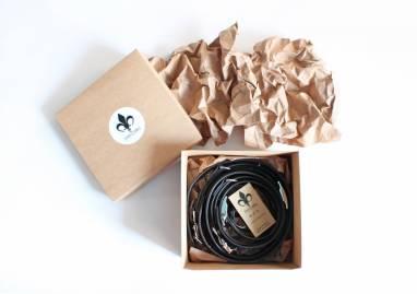 Разгрузка фотографа кожаная на 2 камеры (coffee) ручной работы