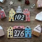 "Номер на дверь "" Амстердам"""