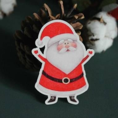 """Новогодний магнит """"Дед Мороз"""" ручной работы"""