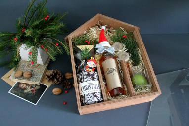 Новогодний подарочный набор для мужчины ручной работы