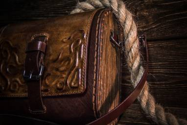 Женская сумка ручной работы из натуральной кожи ручной работы