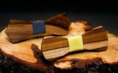 Бабочка из дерева  ручной работы