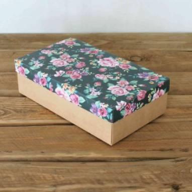 Подарочная коробка на 8 марта ручной работы