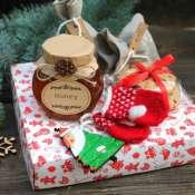 Новогодний подарок с чаем