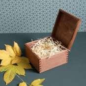 Коробка деревянная для подарка