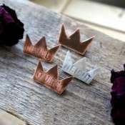 Брошь-корона
