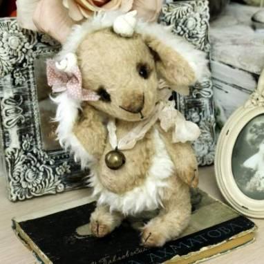 Кукла-игрушка Барашек ручной работы