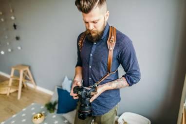 Разгрузка на 2 камеры из натуральной кожи ручной работы