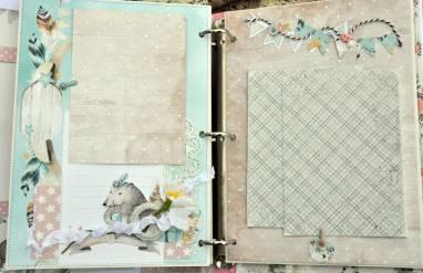 Фотоальбом для девочки ручной работы