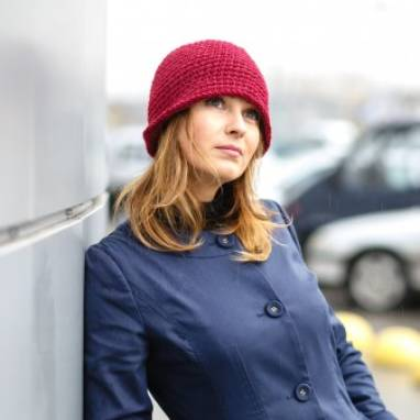 Шляпка Cloche Hat ручной работы