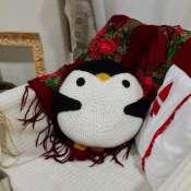 Подушка-зверушка пингвин