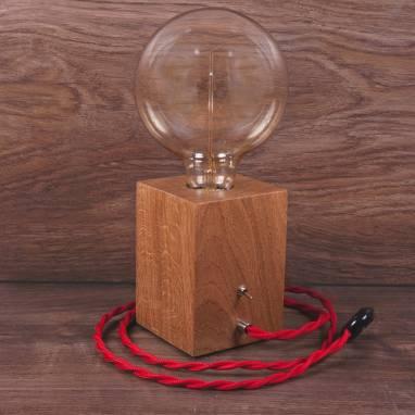 Светильник C-1 Дуб светлый ручной работы