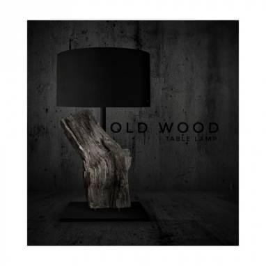 Old wood (table lamp)#15 ручной работы
