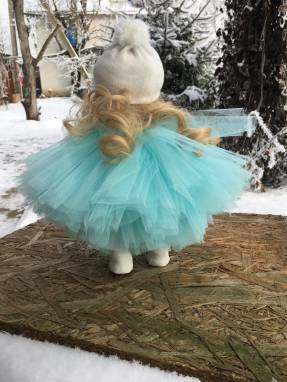 Интерьерная кукла « облачко» ручной работы