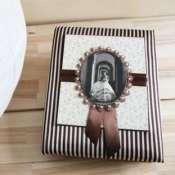 Свадебный фотоальбом ручной работы