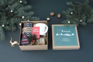 Подарочный набор для мужчин к новому году ручной работы