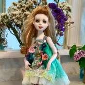 Авторская кукла Мишель