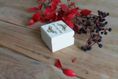 коробочка для обручального кольца ручной работы