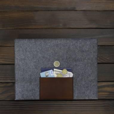 Чехол-папка для MacBook ручной работы