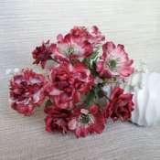 Интерьерный букет из шелковых цветов.